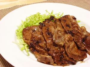 豚肉のしょうが焼き